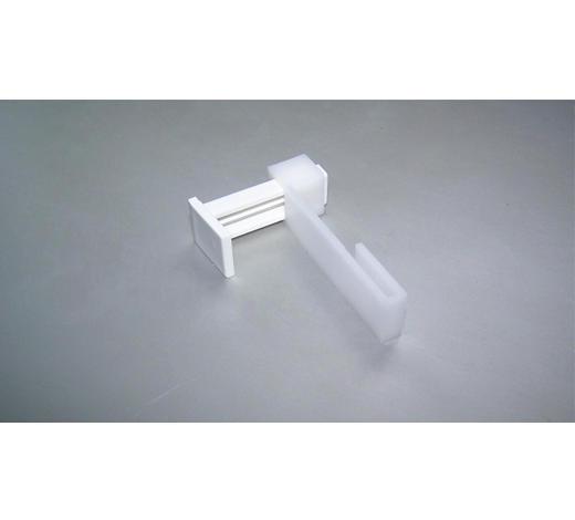 TÜR- UND FENSTERHAKEN - Weiß, Basics, Kunststoff (7cm)