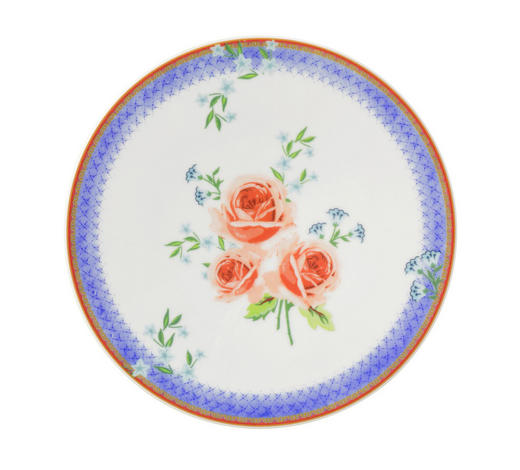 FRÜHSTÜCKSTELLER - Blau, Basics, Keramik (22,5/2,2cm) - Seltmann Weiden