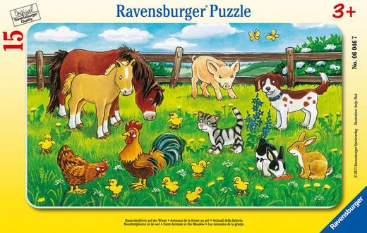 PUZZLE - Multicolor, Basics, Karton (29,7/19/0,5cm) - Ravensburger