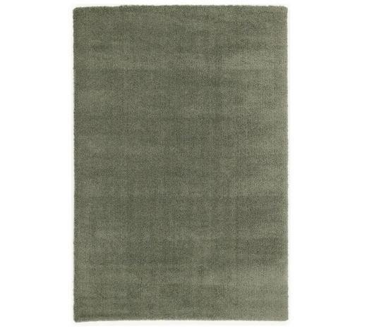 WEBTEPPICH  65/130 cm  Grün, Dunkelgrün - Dunkelgrün/Grün, Basics, Textil (65/130cm) - Novel