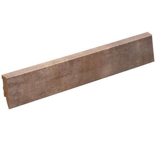 SOCKELLEISTE Braun  - Braun, Basics, Holzwerkstoff (200/5/1,8cm) - Venda