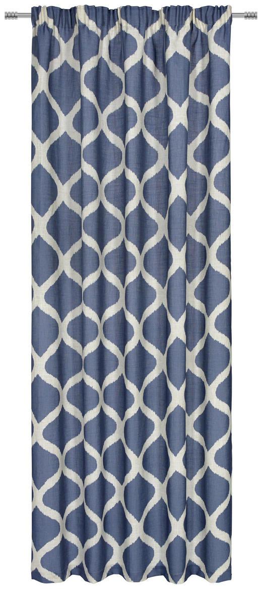 FERTIGVORHANG  blickdicht  140/245/ cm - Blau, Design, Textil (140/245/cm) - Esposa