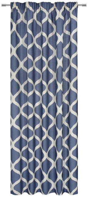 GARDINLÄNGD - blå, Design, textil (140/245cm) - Esposa