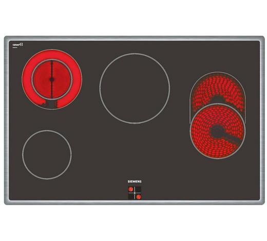 Glaskeramikkochfeld EA845GN17 - Basics, Glas/Metall (79,5/51,7cm) - Siemens