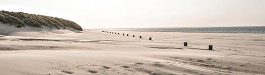 Strand & Meer Acrylglasbild Zeeland - Multicolor, Design, Kunststoff (50/180cm) - Eurographics