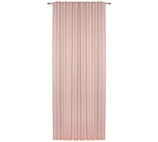 ZÁVĚS, neprůsvitné, 140/255 cm - růžová, Lifestyle, textil (140/255cm) - Landscape