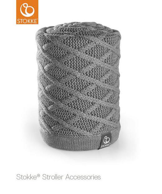 BABYDECKE - Grau, Basics (77/100cm) - Stokke