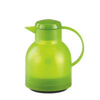 ISOLIERKANNE 1 L  - Hellgrün, Basics, Kunststoff (1l) - Emsa