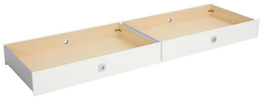 BETTKASTEN 100/16/60 cm Weiß - Weiß, Design, Kunststoff (100/16/60cm) - CARRYHOME