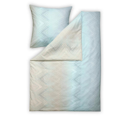 BETTWÄSCHE Makosatin Altrosa - Altrosa, Design, Textil (27/38/3,5cm) - Estella