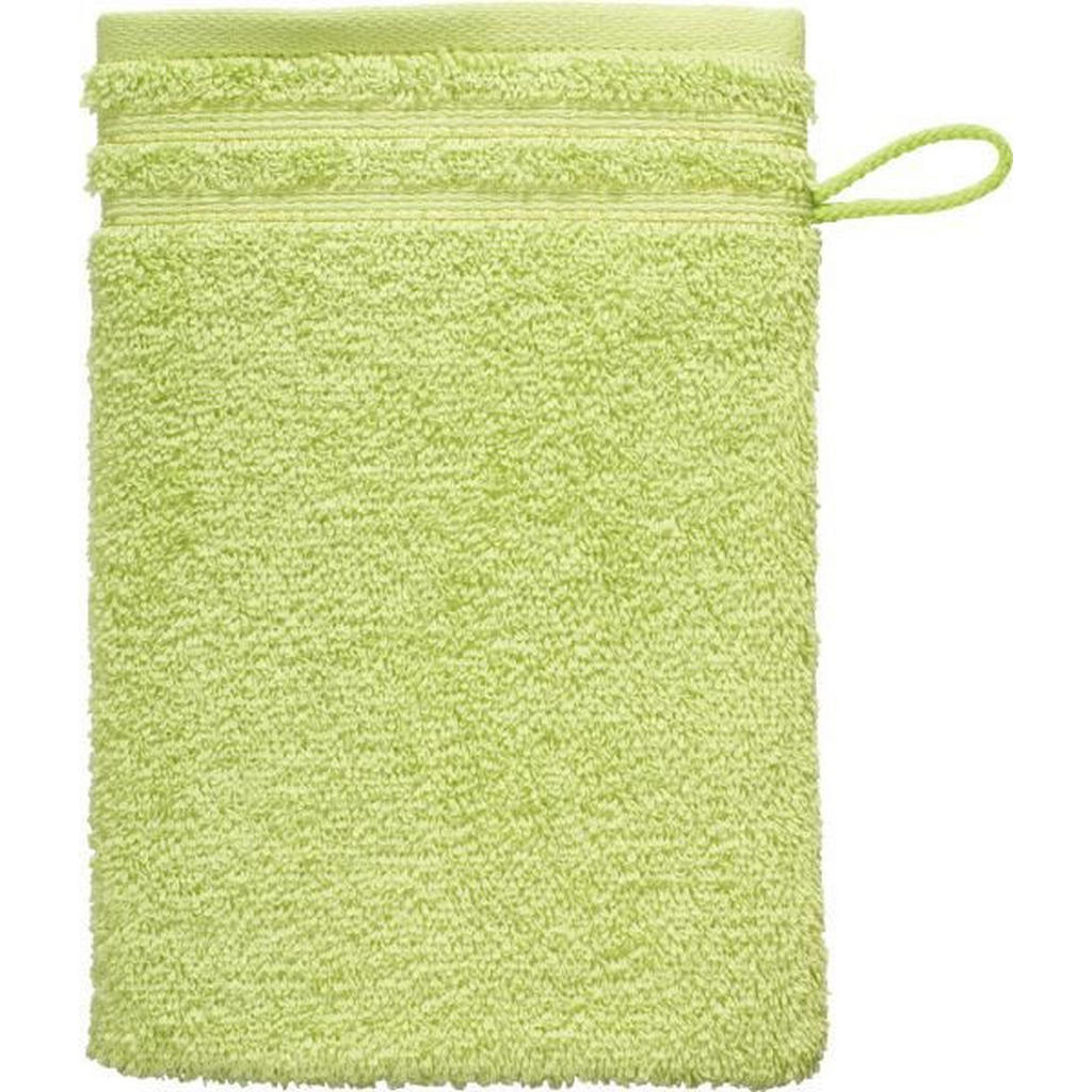 Vossen Waschhandschuh 22/16 cm hellgrün