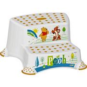 TRITTHOCKER Winnie Pooh - Multicolor/Weiß, Basics, Kunststoff (40/37/21cm) - Disney