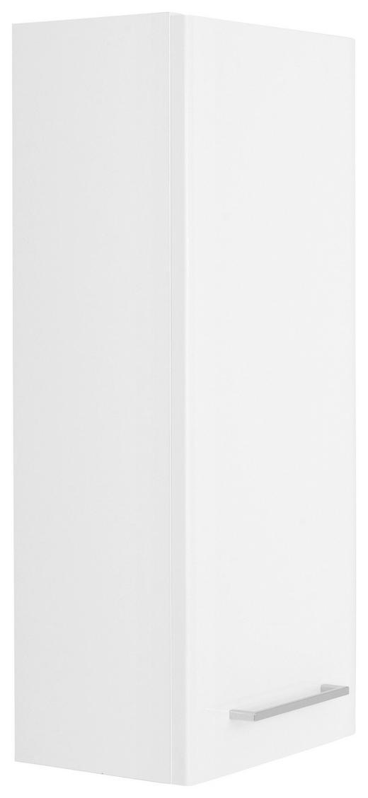 HÄNGESCHRANK Weiß - Chromfarben/Weiß, KONVENTIONELL, Holzwerkstoff (30/70/20cm) - Carryhome