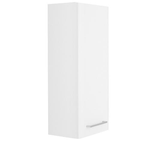 ZÁVĚSNÁ SKŘÍŇKA - bílá/barvy chromu, Konvenční, kompozitní dřevo (30/70/20cm) - Xora