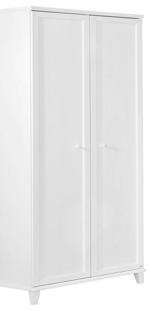 KLEIDERSCHRANK in Weiß - Weiß, Basics, Holzwerkstoff (96,9/200,1/56,6cm) - Paidi