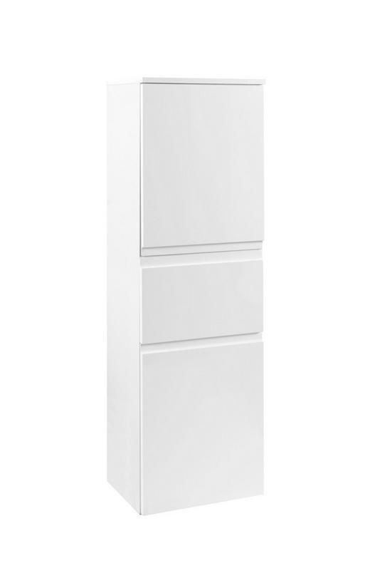 MIDISCHRANK Weiß - Weiß, Design, Holzwerkstoff (40/130/35cm) - Xora