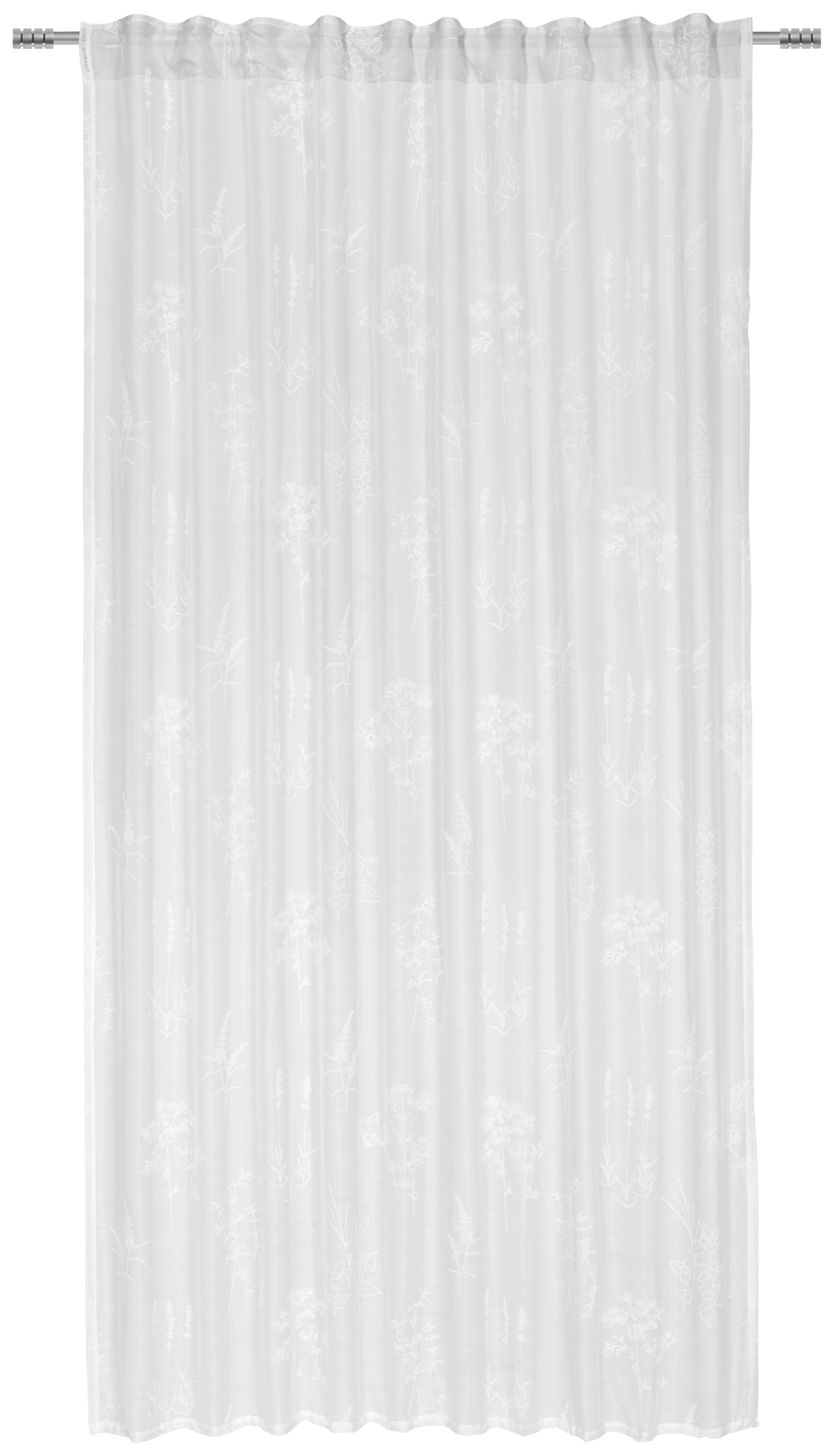 GOTOVA ZAVJESA - bijela, Konvencionalno, tekstil (135/245/cm) - Esposa