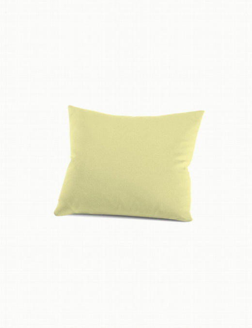 KISSENHÜLLE - Gelb, Basics, Textil (40/40/cm) - Schlafgut