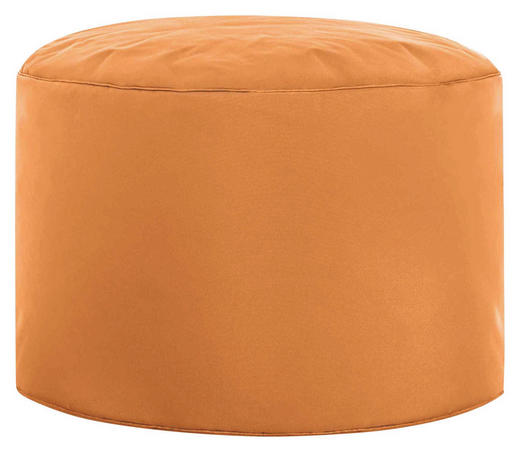 POUF Orange - Orange, Design, Textil (50/30cm) - Carryhome