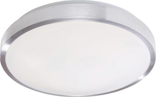 LED-DECKENLEUCHTE - Alufarben/Weiß, LIFESTYLE, Kunststoff/Metall (30cm)