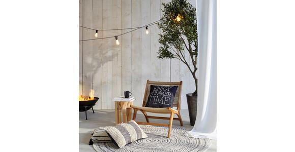 OUTDOORVORHANG blickdicht  - Weiß, Basics, Textil (140/300cm) - Esposa