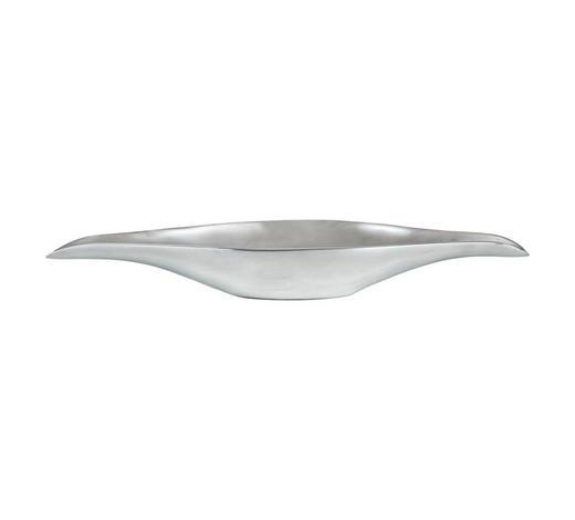 DEKOSCHALE - Silberfarben, Design, Metall (18/59,5cm) - Ambia Home