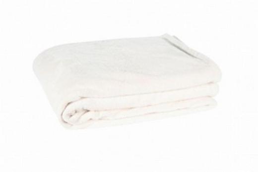 WOHNDECKE 140/190 cm Weiß - Weiß, Textil (140/190cm) - ZOEPPRITZ