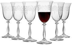 ROTWEINGLAS-SET 6-teilig  - Klar, Trend, Glas (0,35l) - Novel