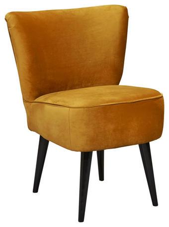 SESSEL Goldfarben - Goldfarben/Schwarz, Trend, Holz/Textil (65/89/70cm) - Carryhome