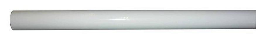 RUNDSTANGE 120 cm  - Weiß, Basics, Metall (120cm) - Homeware