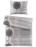 POVLEČENÍ, satén, barvy stříbra, 140/220 cm - barvy stříbra, Konvenční, textil (140/220cm) - Esposa