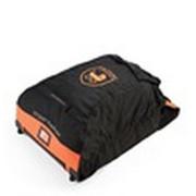 Stikke prampack - orange/svart, Design, textil - Stokke