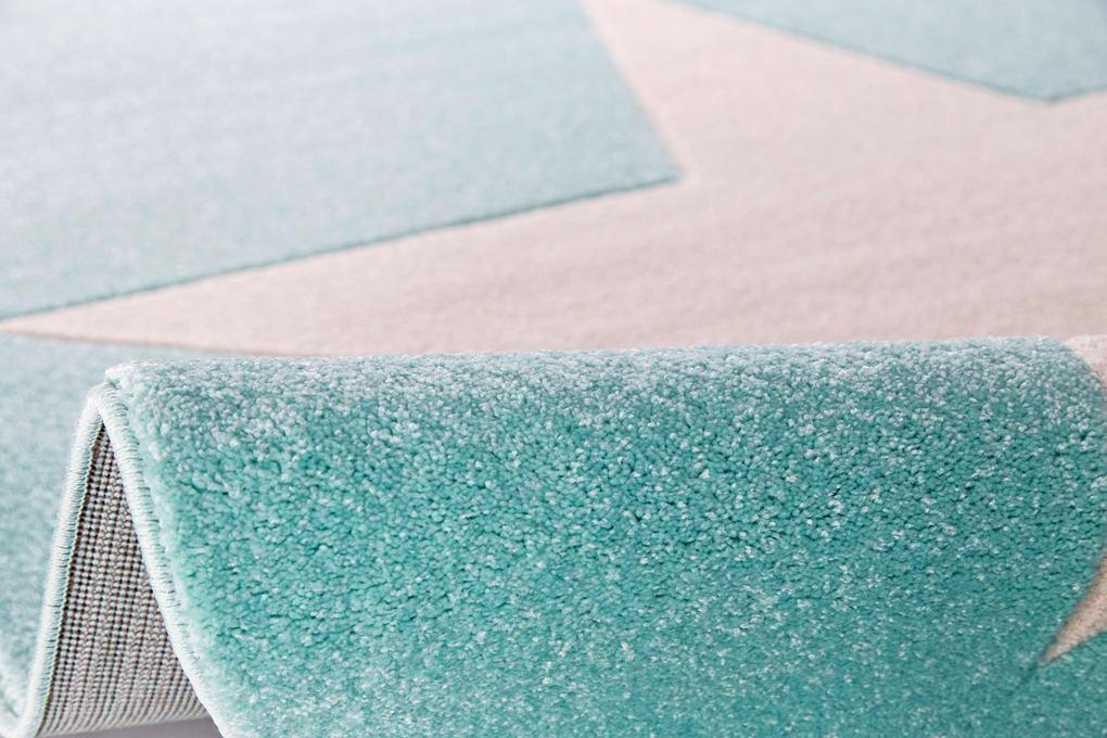 KINDERTEPPICH  Mintgrün  100/160 cm - Mintgrün, Textil (100/160cm)