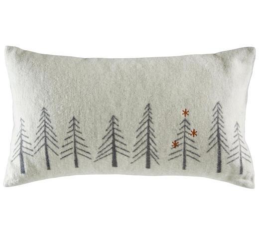 ZIERKISSEN 30/50 cm - Weiß, KONVENTIONELL, Textil (30/50cm) - David Fussenegger