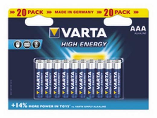 BATTERIE - Basics (16.7/12/2.2cm) - Varta