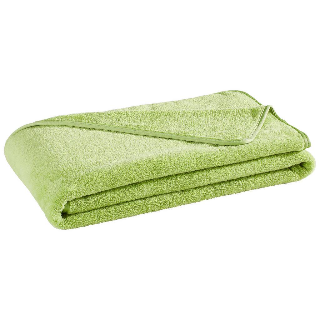 Hellgrüne Kuscheldecke für mehr Gemütlichkeit