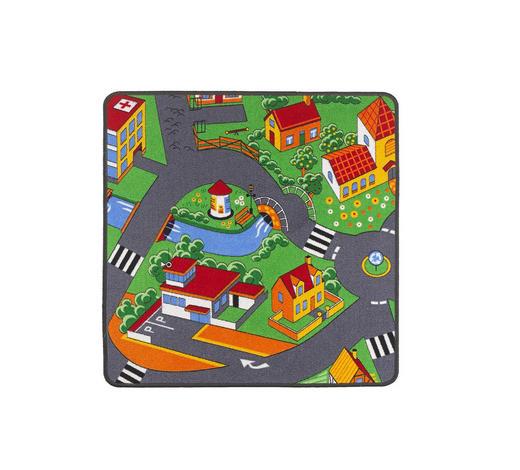 SPIELTEPPICH 80/80 cm  - Multicolor, Trend, Kunststoff/Textil (80/80cm) - Ben'n'jen