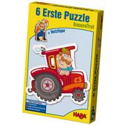 PUZZLE - Multicolor, Basics, Holz (24/15/5cm) - Haba