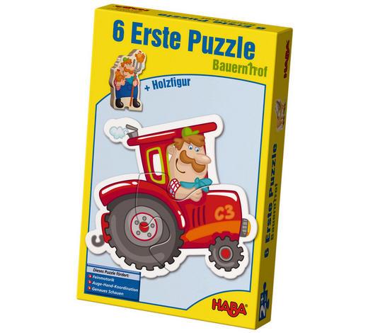 PUZZLE - Multicolor, Basics, Naturmaterialien/Holz (24/15/5cm) - Haba