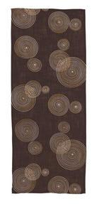 """UBRUS """"BĚHOUN"""" NA STŮL - hnědá, Design, textil (40/150cm)"""