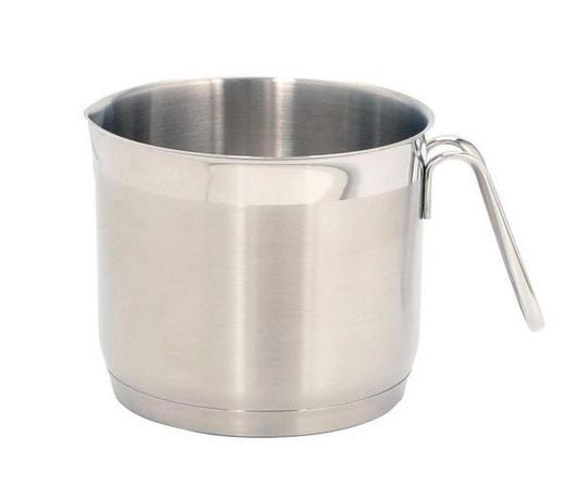 MJÖLKKASTRULL - rostfritt stål-färgad, Basics, metall (14cm) - HOMEWARE