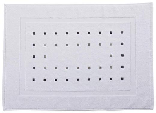 BADEMATTE  Weiß  50/70 cm - Weiß, Design, Textil (50/70cm) - Esposa