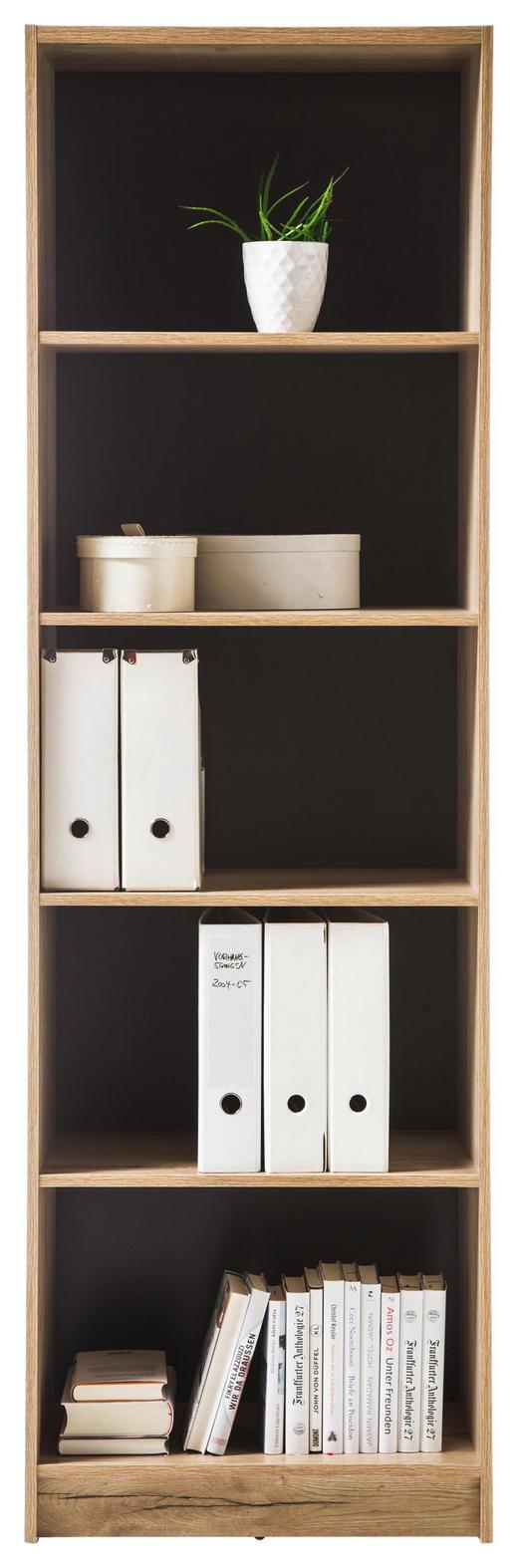 REGAL in 60/193/38 cm Eichefarben - Eichefarben, Design, Holzwerkstoff (60/193/38cm) - Xora