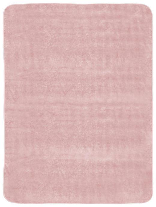 WOHNDECKE 180/220/ cm - Rosa, Design, Textil (180/220/cm) - Novel