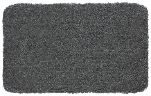 BADTEPPICH  Anthrazit  60/100 cm - Anthrazit, Basics, Kunststoff/Textil (60/100cm) - KLEINE WOLKE
