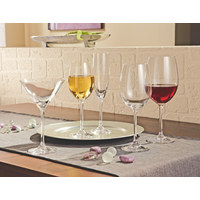 Rotweinglas-Set 6-teilig - Klar, Glas (0,47cm) - LEONARDO