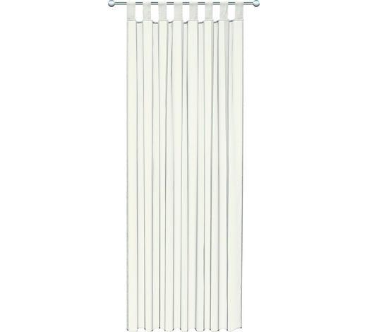 SCHLAUFENVORHANG transparent  - Naturfarben, Basics, Textil (140/245cm) - Boxxx