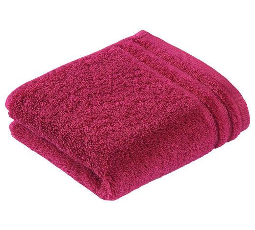 RUČNÍK PRO HOSTY, 30/50 cm, tmavě růžová - tmavě růžová, Basics, textil (30/50cm) - Vossen