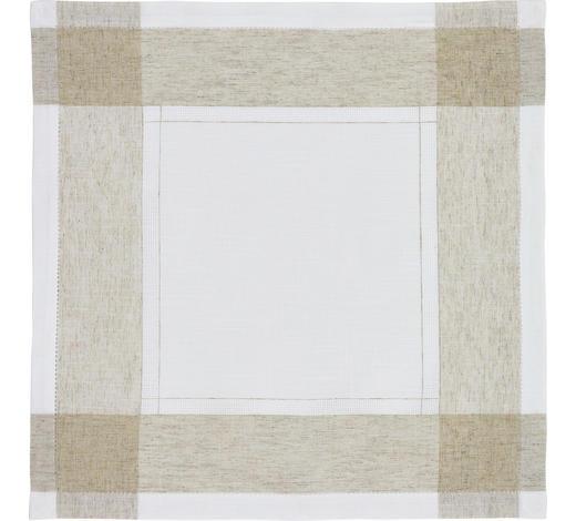 TISCHDECKE 85/85 cm   - Beige, KONVENTIONELL, Textil (85/85cm)