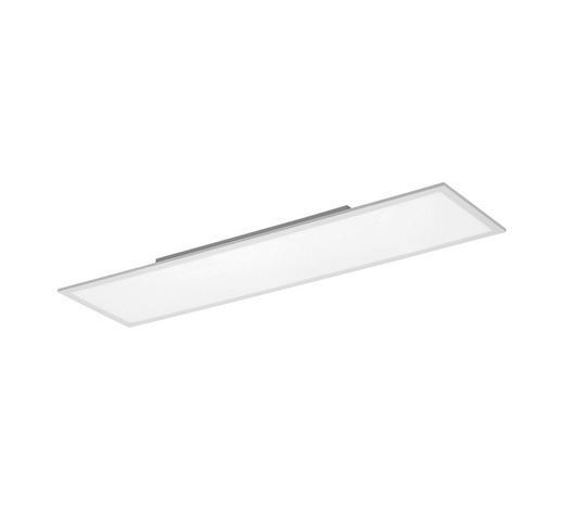 LED-PANEEL - Weiß, Design, Kunststoff/Metall (120/30/6cm)